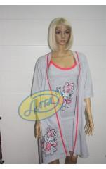 Ночная сорочка с халатом